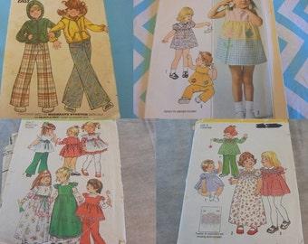 U Pick Sewing Patterns Childrens Boys Girls Jackets Pants Dresses