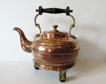 Old Vintage PremierCopper/Brass Electric Kettle Does Not Work - For Display Only.