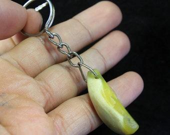 Item = Natural Stone Key Chain