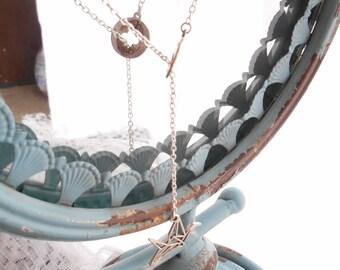 Hope Lariat Necklace