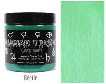 Pastel Mint Green Hair Dye