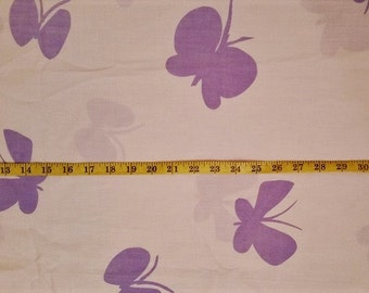 Butterfly Cotton Sheeting Fabric