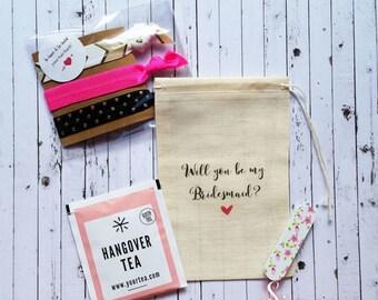 Will you be my Bridesmaid Gift. Bridesmaid proposal, Bridesmaid favor, Bridesmaid Kit.