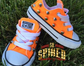 SALE-Select colors Infant/Toddler Converse Low Top -Hard Bottom Many colors available (kids)