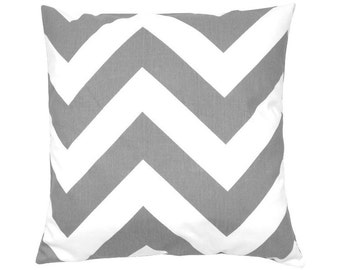 Cushion cover graphic pattern ZIPPY 50 x 50 cm grey white