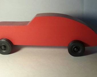 Handcrafted Wood Toy Car #19