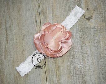 Flower Girl Headband Baby Headband Bling Headband Vintage Headband Wedding Headband Bling Headband ChristeningHeadband