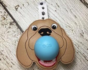 4 x 4 ITH  Dog/Puppy Sphere/Egg Lip Balm Holder - Lip Gloss -  DIGITAL Embroidery Design