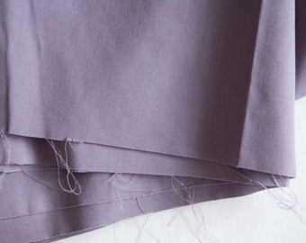 Destash Fabric - Overstock - Medium Weight Cotton Fabric - Lilac Fabric - Lavender Cotton