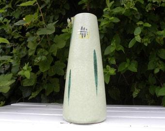 Scheurich midcentury handpainted vase 532-28 Foreign