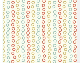 Beyond the Sea by Birch - Bubble Rings Girl - Organic Fabric (0.25m)