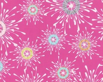 1/2 Yard - Flow - Papyrus - Raspberry - Zen Chic - Brigitte Heitland - Moda - Fabric Yardage - 1590 12