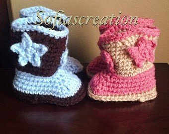 Baby cowboy boots-Baby cowboy -cowboy boots-baby booties-cowgirl boots-boots-baby shoes