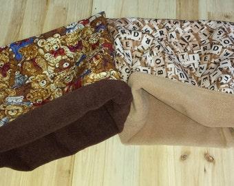Snuggle sack pocket pouch cosy bed bag Hamster,Gerbil,Dwarf hamster,mouse, Pet.