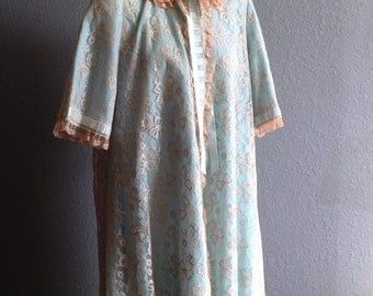 Dressing Gown by Odette Barsa--High Quality Lingerie from 1950's
