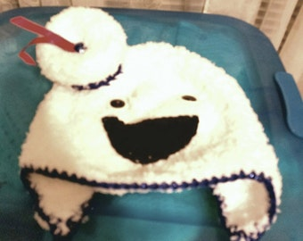 Stay Puft Man earflap hat