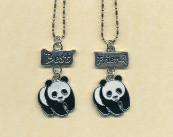 Panda Best Friend necklaces