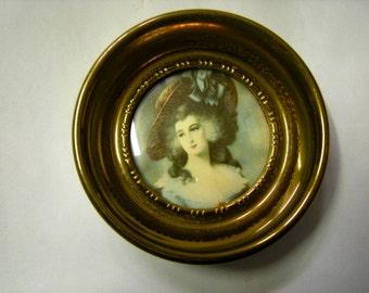 cameo portrait-cameo creation-Gaineborough portrait-Lady Sheffield-bedroom decor-boudoir