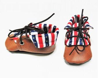 Merica Stripe Chuck Boots