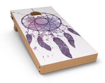 Dreamcatcher Splatter - Cornhole Board Skin Kit