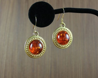 Baltic Amber earrings ~ Outlander inspired