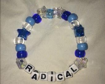 """Beaded """"Radical"""" Bracelet"""
