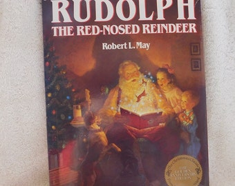 Vintage Rudolph The Red-Nosed Reindeer by Robert L. May