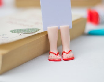 Red Slippers- Funny Bookmarks
