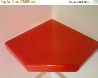 10% sale corner floating shelf 1.5 inches thick