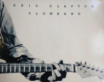 Eric Clapton - Slowhand - vinyl record