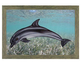 Porpoise Nautical Art Nautical Decor Outdoor Decorations