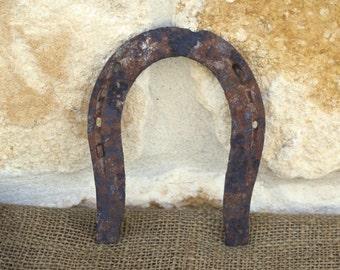 Vintage Rusty Mule Shoe