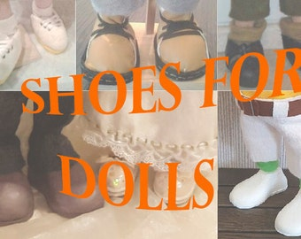 Tutorial how to make the best shoes for dolls