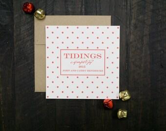 Dot Letterpress Holiday Cards