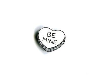 Candy Heart Pin