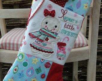 Keepsake Christmas Stocking