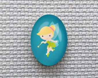 Magnetic Princess Tinkerbell Needle Minder for Cross Stitch, Embroidery, & Needlecrafts (18mmx25mm with Strong Magnet)