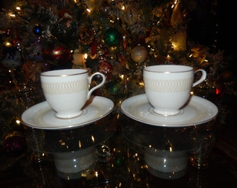 GERMANY BAVARIA ESCHENBACH Demitasse Cups and Saucers