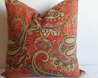 Designer pillow cover,throw pillow,decorative pillow,accent pillow,same fabric on both sides.