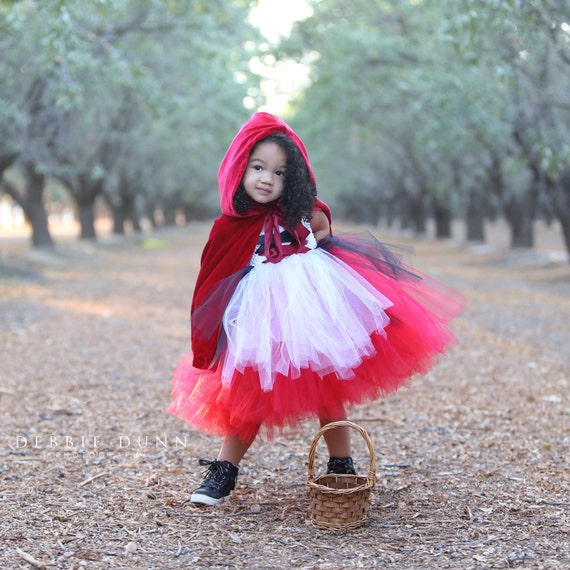 Red Riding Hood Outfit for Party/Pagent