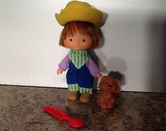Huckleberry Pie Vintage Strawberry Shortcake Doll First Edition