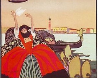 1921 Venice Air Show Poster A3 / A2 Print