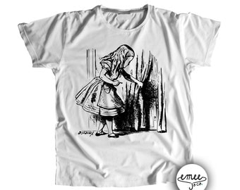 SHIPS ASAP, Alice in Wonderland Shirt, Alice in Wonderland Clothes, Alice in Wonderland Baby Outfit, Whimsical Baby Clothes, Toddler Shirt