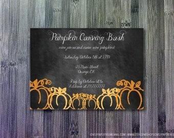 Pumpkin Carving Invitation (HP_HAL_INV10)