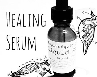 Organic Healing Serum | Acne Scar Treatment | Hyperpigmentation Treatment | Organic Healing Oil | Organic Acne