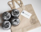 Kit de materiales para tejer bolso básico #3, incluye patrón en formato digital pdf y rafia sintética