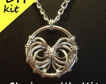 Life Pendant Kit - DIY Chainmaille Kit for the Life Pendant