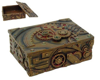 Steampunk box - Treasures