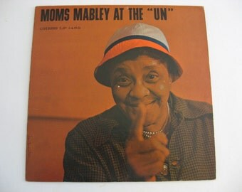 "Moms Mabley - At The ""UN"" - Circa 1961"