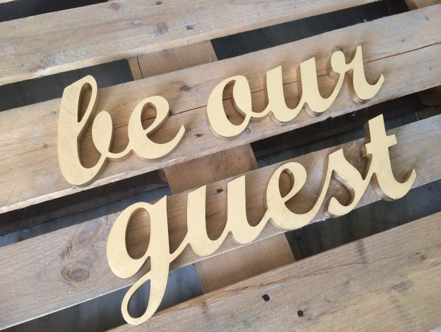 Guest room sign be our guest home decor wall art for 3 dining rooms at be our guest